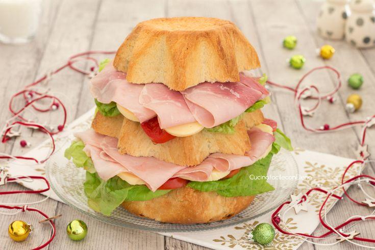 Pandoro salato gastronomico