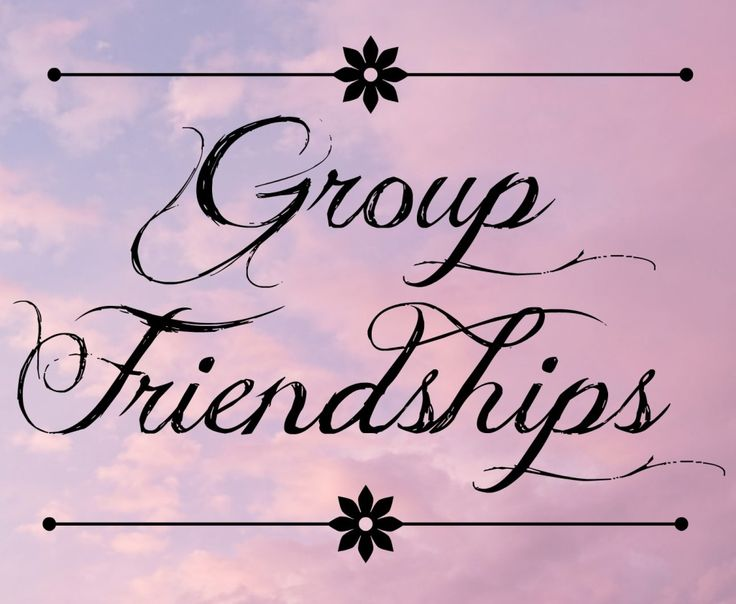 Group Friendships - - Green with Envy - Angie's Angle
