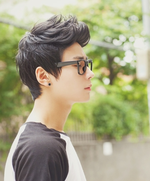 Korean boy hairstyle
