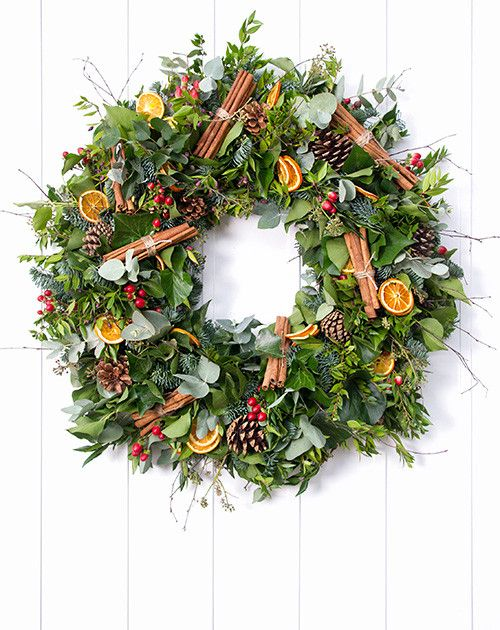 Classic - Traditional Christmas Wreath