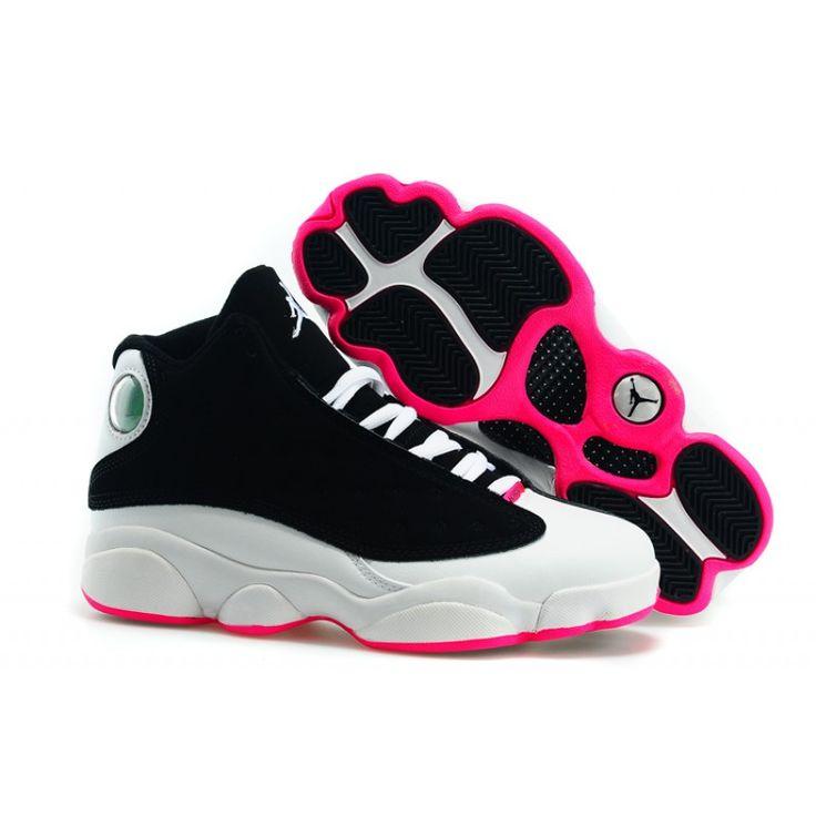 Air Jordan 13 Retro Nouvelles Chaussures Pour Femmes Robe Fuchsia