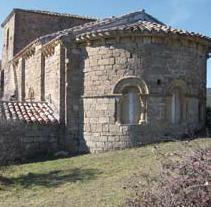 El románico en la Montaña de Navarra. Santa María de Arce, en Nagore (Foto Cederna Garalur www.cederna.es)