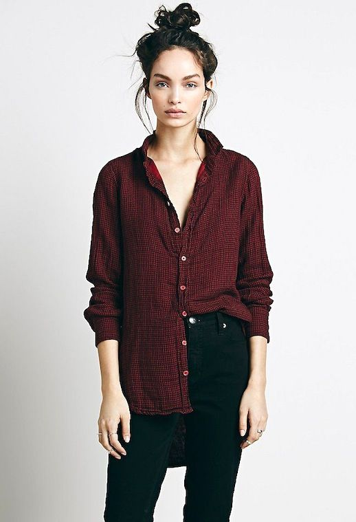 Must-Have: A Slouchy Shirt You'll Want To Live In