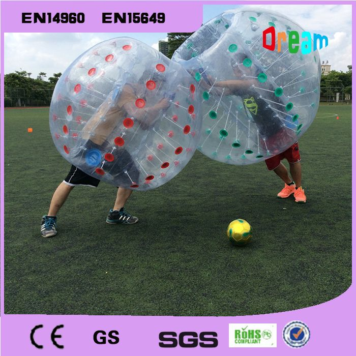 Открытый командные игры приятель бампер мяч для взрослых/надувные человека, футбол бурлящий шарик для футбола/бампер мяч