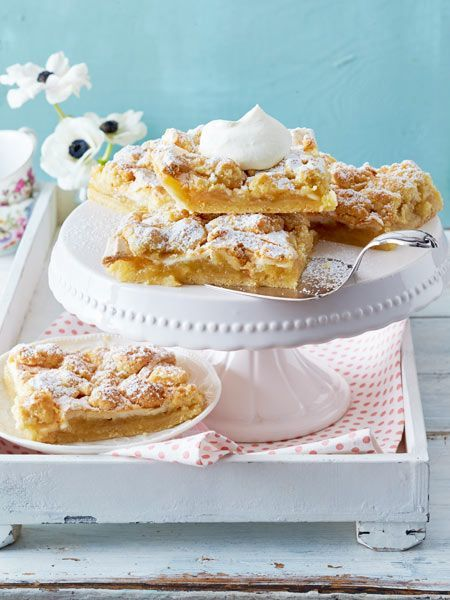 Apfel Baiser Kuchen Vom Blech Rezept Rezepte Kuchen Torten