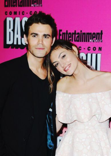 July 23, 2016: Paul Wesley and girlfriend Phoebe Tonkin at Entertainment Weekly's Comic-Con Bash in San Diego, California
