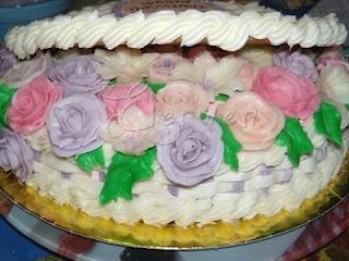 Ricette Annotate: Torta Compleanno Cesto di Fiori