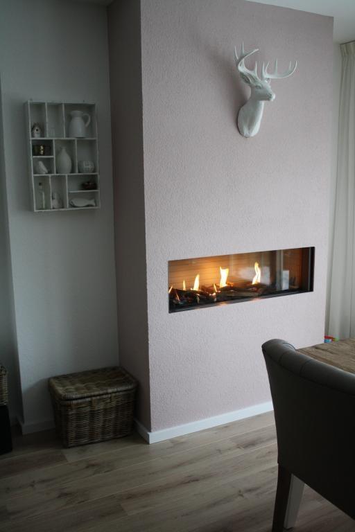 Oud roze muren geven warmte