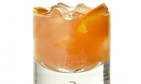 Italian sunrise - 20ml Aperol 20ml gin 20ml Lillet rouge Blood orange soda (San Pellegrino's aranciata rossa) or orange soda, at a push 2 slices orange, to garnish. Take a highball glass and fill with cubed ice. Add all the ingredients, stir gently, garnish and serve.