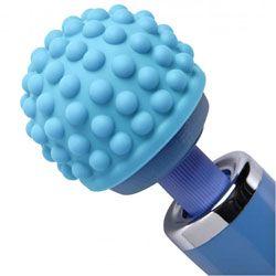 Bacchetta Essentials blu massaggi urti Silicone allegato