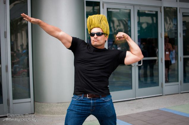 The Most Amazing Cosplay From Wondercon: Day One!: Pretty sure that's Johnny Bravo