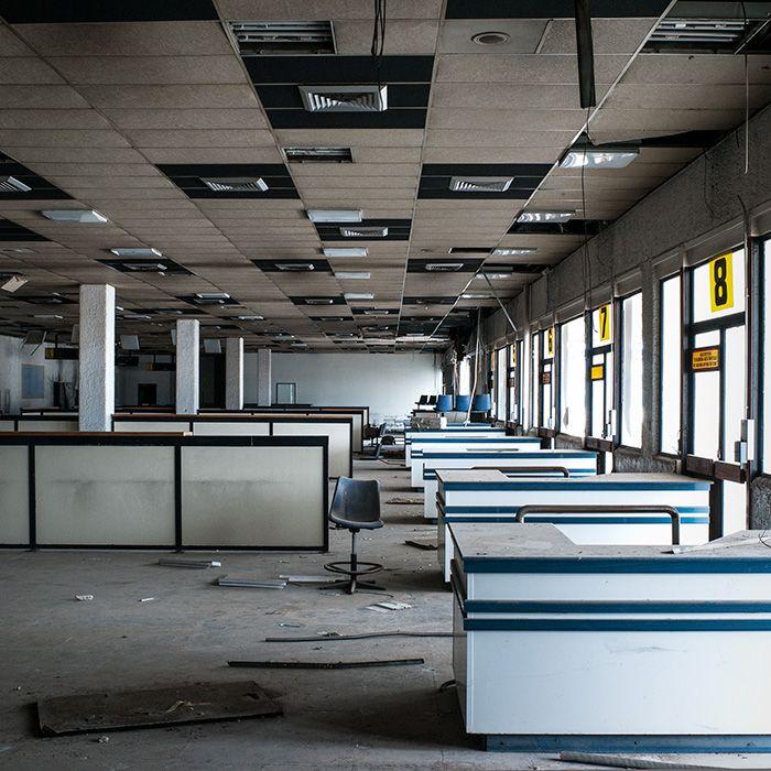 Departures: Abandoned Greek Airport