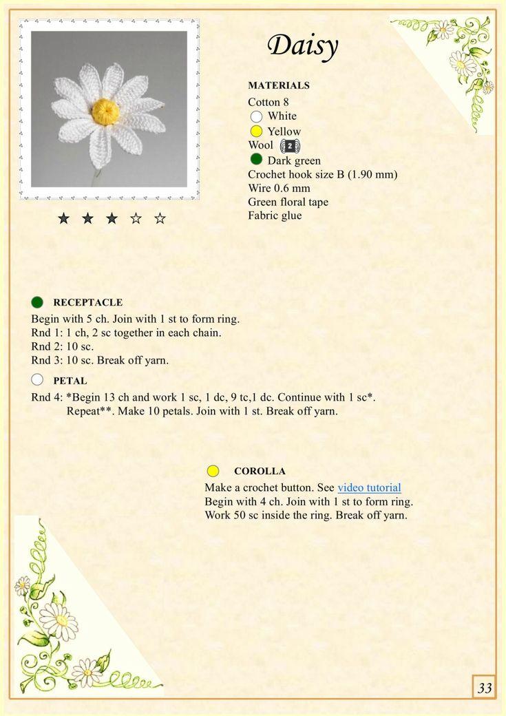Мобильный LiveInternet Альбом «The Book of Crochet Flowers» | Natali_Vasilyeva - Дневник Natali_Vasilyeva |