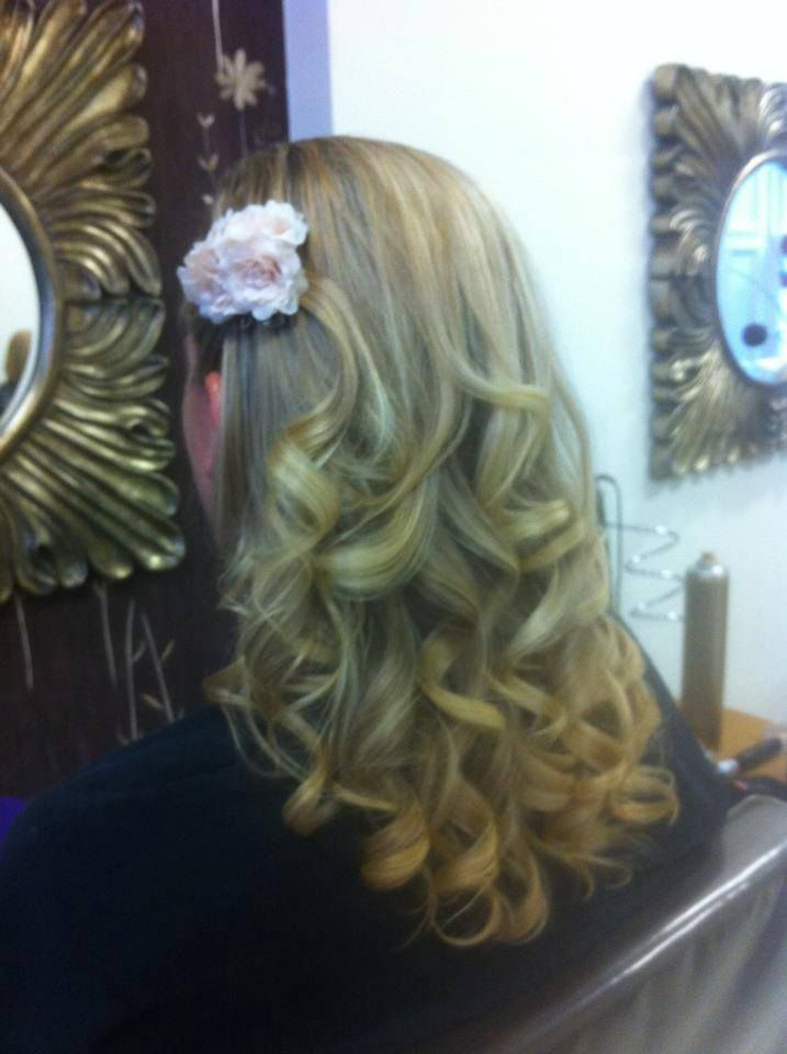 GHD curls :)