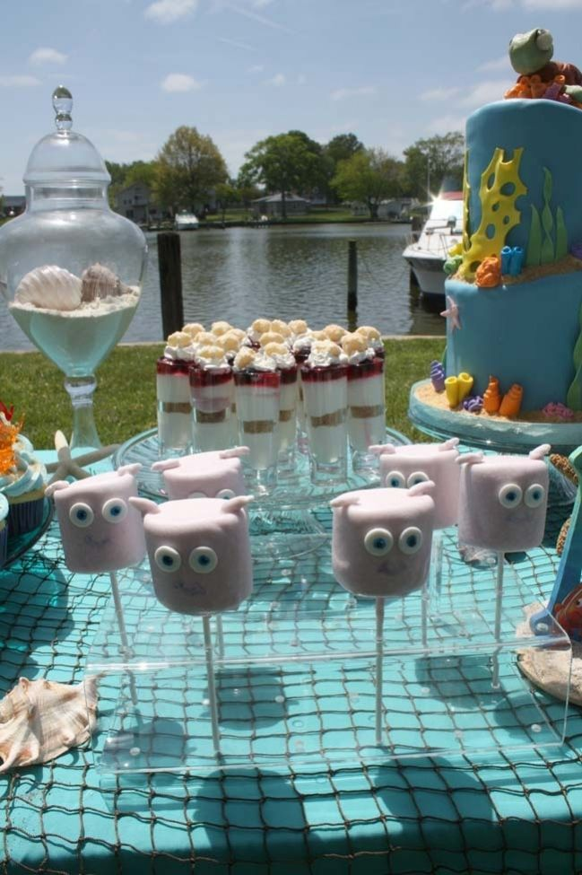 Under the Sea Boy Baby Shower {Finding Nemo Party} - Spaceships and Laser Beams