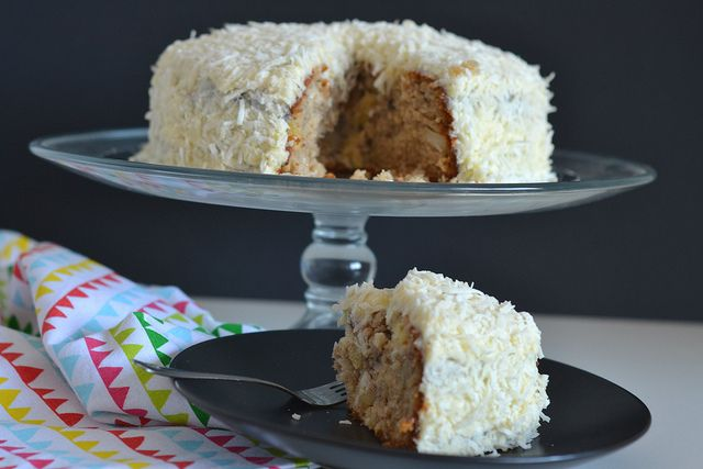Hummingbird Cake by thestickyandsweet, via Flickr