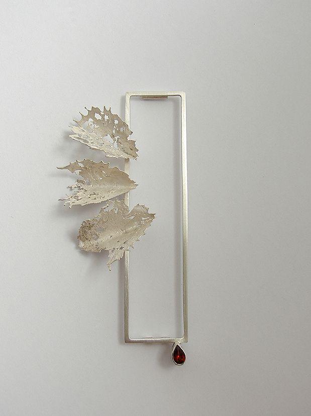 brooch - 925 silver, garnet                                                                                                                                                     More