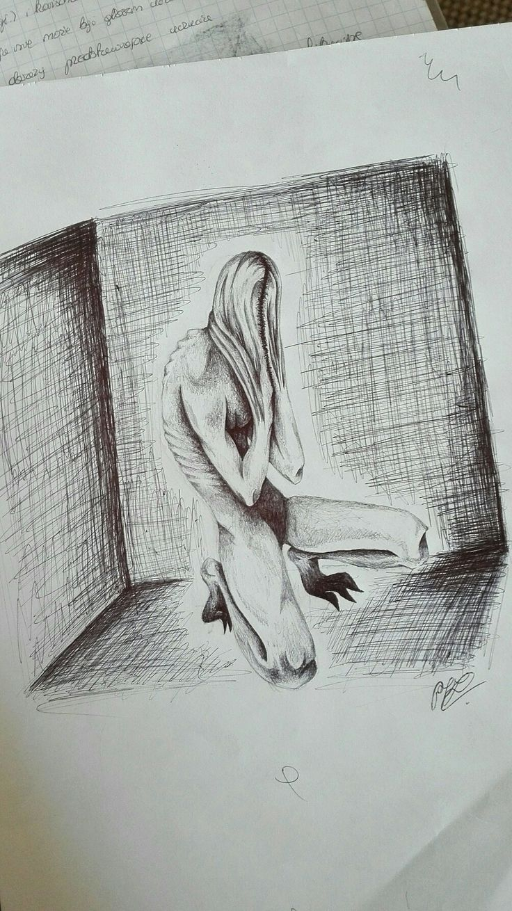 Imprisoned in Own Thoughts
