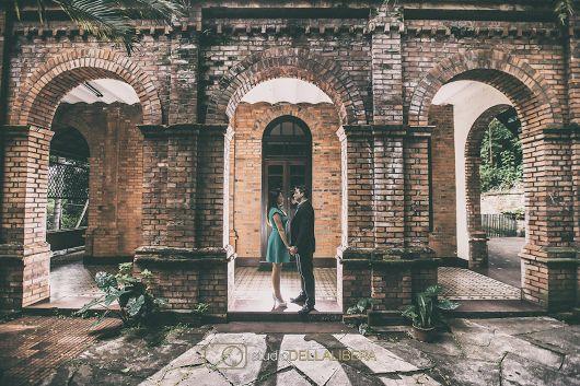 Pre wedding engenho central foto envelhecida