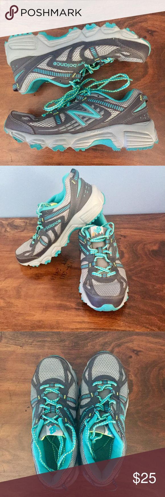 New Balance 410v4 Trail Runner sneakers 🏃 Amazing New Balance trail runner sneakers. These babies are ready for summer and the open road! Only worn a couple times, the tread and insoles are in amazing condition. EUC, no rips, tears or stains. From smoke free home. New Balance Shoes Sneakers