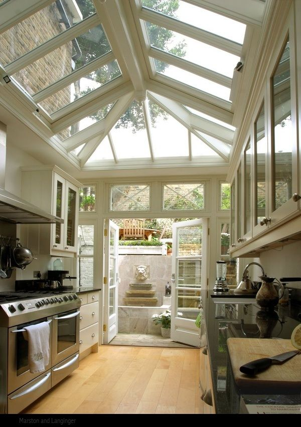 Renée Finberg ' TELLS ALL ' in her blog of her Adventures in Design: Conservatory Kitchen