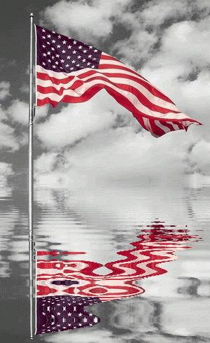 american flags photos