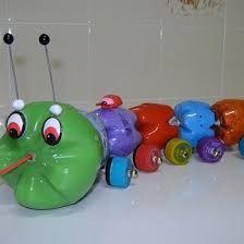 Resultado de imagen para juguetes con material reciclado