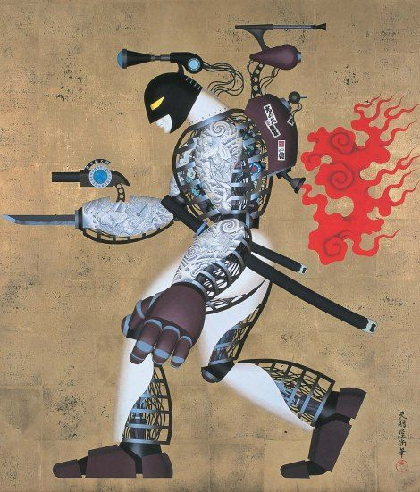 TENMYOUYA HISASHI / Japanese Spirit 十三号機(2000)