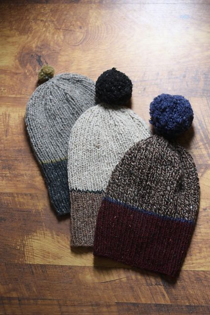 Ravelry: Family Hats pattern by Amy Christoffers