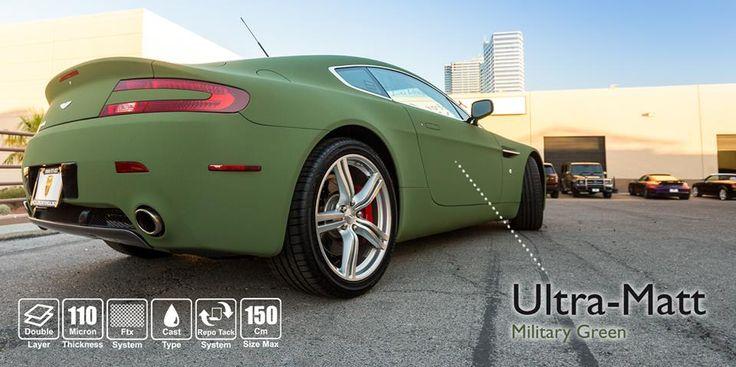 NUOVO Military Green Ultra Matt (CW/84.0-HX): puro fascino e avanguardia tecnologica. NEW Military Green Ultra Matt (CW/84.0-HX): pure charm and cutting-edge technology. #selfadhesive #apastickers #apafilms #apafolie #apavinyl #ultramatt #militarygreen #nubuck #carfoil #carwrap #carwrapping #ilw #ilovewrapping #apainside