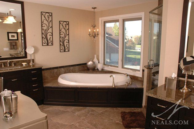 Luxurious bath remodel project by neal s design remodel in for Bathroom remodelers in my area