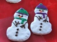 Snowman Dog Biscuit