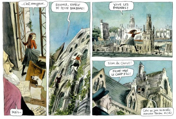Philip Pullman's Northern Lights comic by Stéphane Melchior and Clément Oubrerie