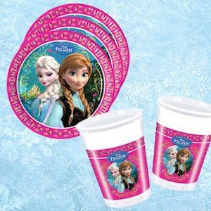 16 Kişilik Karlar Ülkesi Frozen Elsa Doğum Günü Parti Seti - Doğum Günü Süsleri   Nice Yaşlara