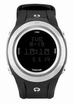 Uhr - Nixon - Sportswear für Männer: Outdoorbekleidung und Accessoires - © Nixon Diese Sportuhr von Nixon hat so einiges drauf, was Männerherzen höher schlagen lässt: Countdown-Timer; Stoppuhrfunktion, Alarm, duale Zeit......