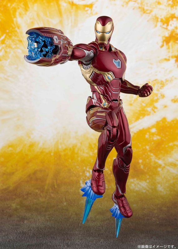 GENUINE Bandai S.H.Figuarts Avengers Infinity War Iron Man Mk 50 Nano Weapon Set
