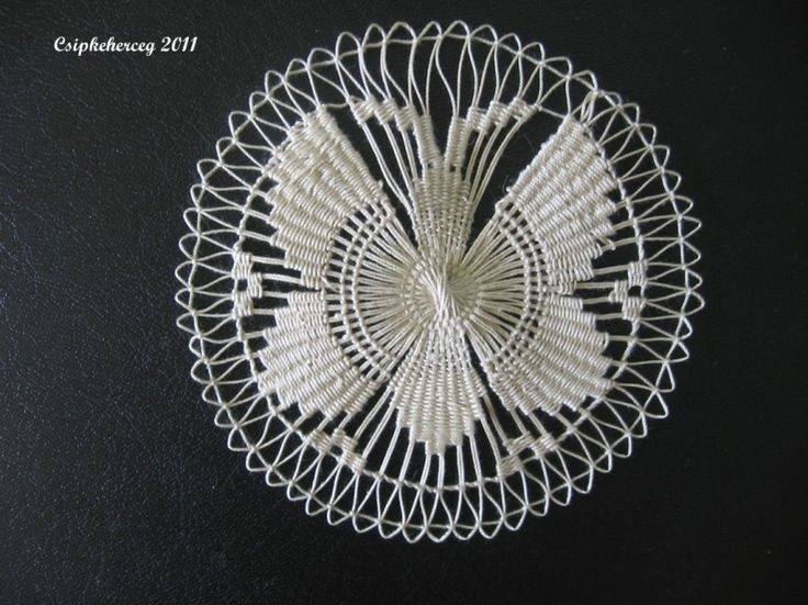 #teneriffe #lace #needlelace
