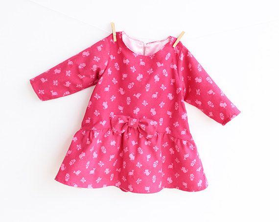 Patron de couture robe bébé fille minuscule souris Pdf par PUPERITA