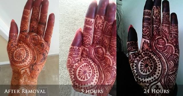 How To Get A Darker Mehndi Color On Your Hands For A Bride How To Make Henna Mehndi Henna Stain