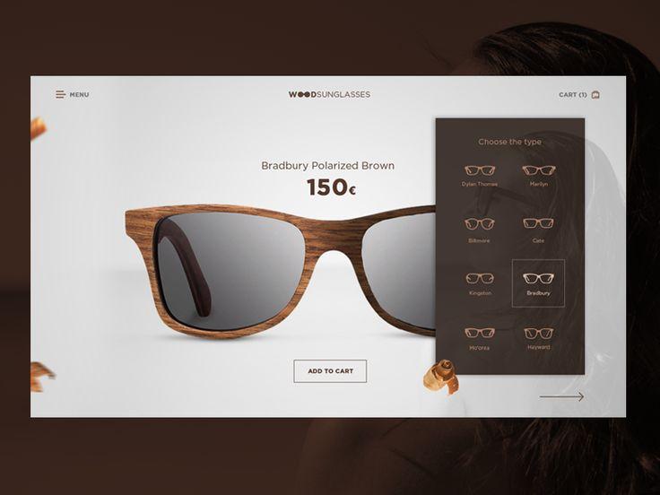 Wood sunglasses by Martin Štrba