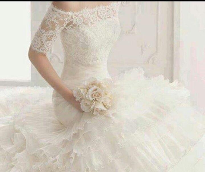 White Bridal Gown ♥