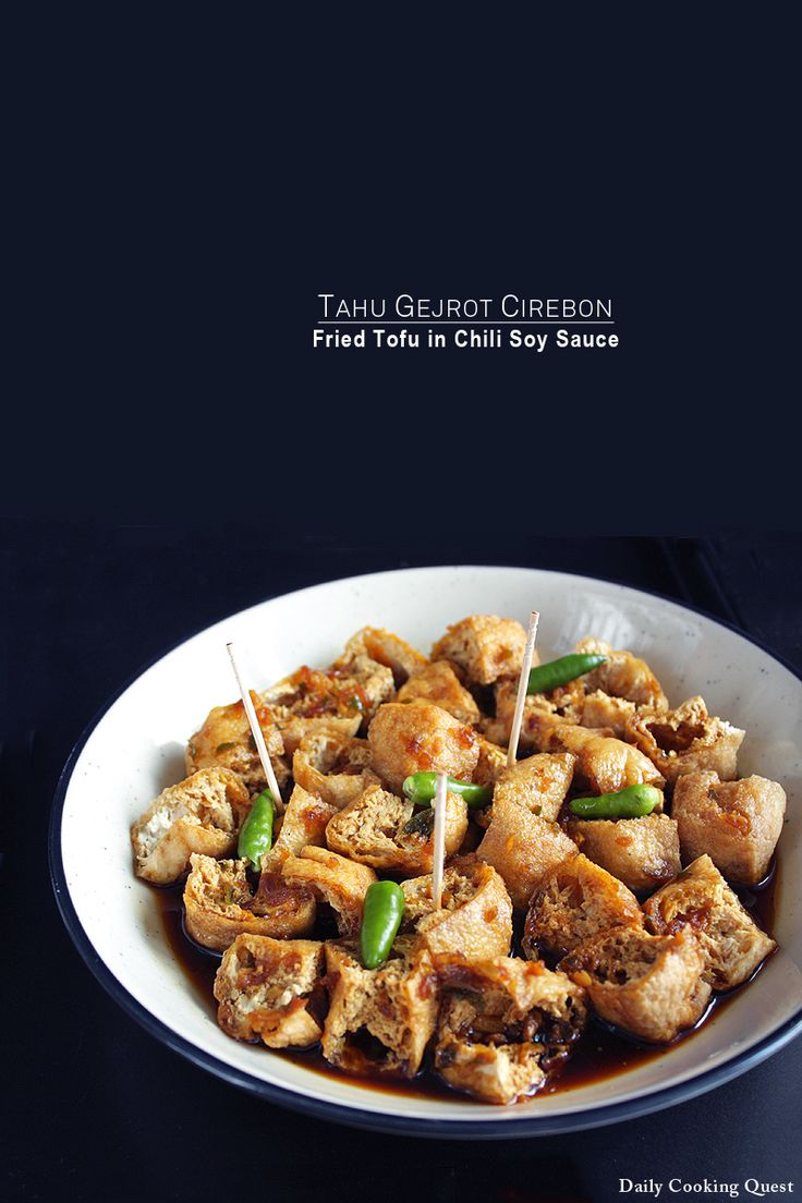 Tahu gejrot is originated from Cirebon, a port city in northern coast of West Java bordering the province of Central Java. This tiny city contributes to many famous dishes known throughout Indonesia, such as empal gentong, mi koclok, nasi lengko, tahu petis, docang, and of course, tahu gejrot. Tahu …</p>