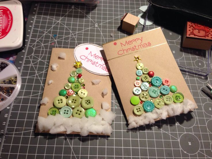 Christmas cards #handmade by BB