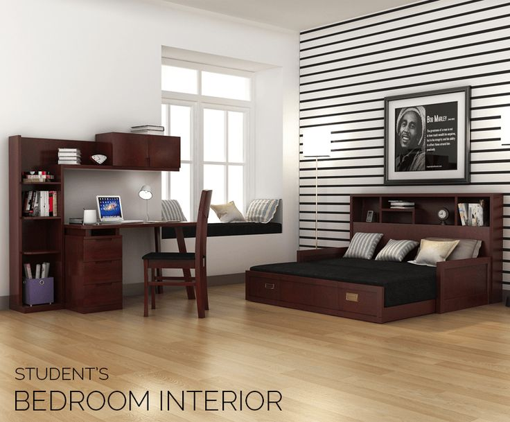 place the gorgeous adolf study table and zibah sofa cum bed in your small