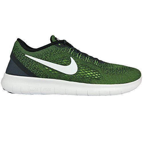 Nike Herren Free Rn Trainingsschuhe, Multicolore (Anthracite/Off White/Volt/Black), 46 EU - http://on-line-kaufen.de/nike/46-nike-herren-free-run-laufschuhe-grau-white-pure