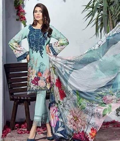 c70b2575f3 Jazmine Lawn Suit, Ladies Designer Replica, Online Clothes Shopping ...