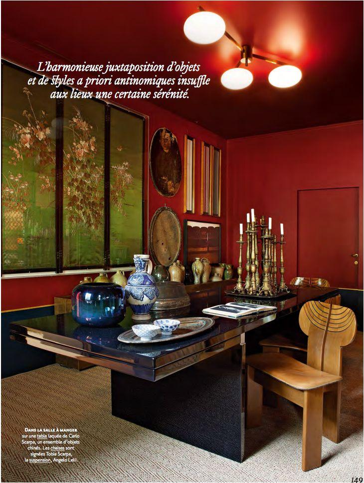 The Milan apartment of the interior designer couple Dimore Studio.