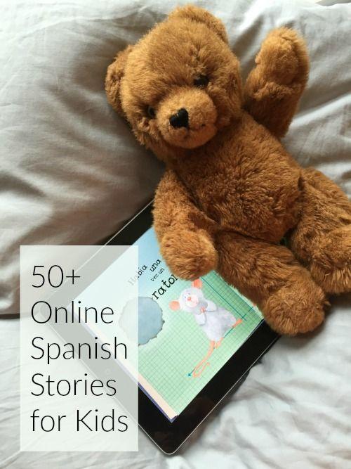 50+Online+Spanish+Stories+for+Kids