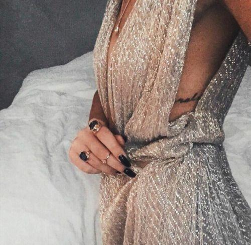 fashion, dress, and nails-bild