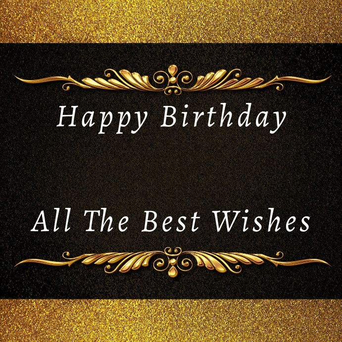 Birthday Instagram Card Birthday Wishes Birthday Card Template Free Birthday Wishes
